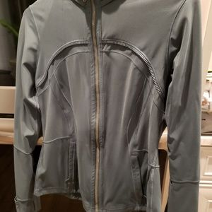 Lululemon greenish blue zip up.